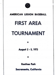1973 First Area Tournament