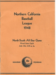 Northern California League All-Star Games